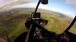 Helicopter gift flight trial lesson Gloucestershire