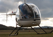 Student first solo helicopter flight